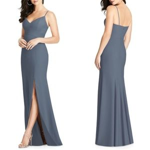 NWOT Dessy Collection VNeck Spaghetti Strap Gown 2